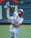 Ivo Karlovic (CRO) defeated Jack Sock (USA) 7-6 , 7-6,