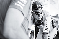 Tony Martin (GER/Katusha-Alpecin) warming up with a cooling vest against the heat<br /> <br /> Baloise Belgium Tour 2017<br /> Stage 3: ITT Beveren - Beveren (13.4km)