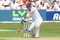 Kevin Pietersen of England in batting action - Essex CCC vs England - LV Challenge Match at the Essex County Ground, Chelmsford - 30/06/13 - MANDATORY CREDIT: Gavin Ellis/TGSPHOTO - Self billing applies where appropriate - 0845 094 6026 - contact@tgsphoto.co.uk - NO UNPAID USE