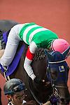 TAKARAZUKA,JAPAN-JUNE 26: Marialite,ridden by Masayoshi Ebina,is coming back after winning the Takarazuka Kinen at Hanshin Racecourse on June 26,2016 in Takarazuka,Hyogo,Japan (Photo by Kaz Ishida/Eclipse Sportswire/Getty Images)