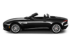 Car Driver side profile view of a 2021 Jaguar F-Type - 2 Door Convertible Side View