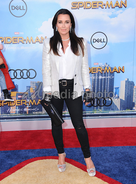 """28 June 2017 - Hollywood, California - Kyle Richards. """"Spider-Man: Homecoming"""" Los Angeles Premiere held at the TCL Chinese Theatre in Hollywood. Photo Credit: Birdie Thompson/AdMedia"""