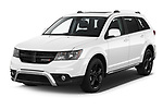 2020 Dodge Journey Crossroad 5 Door SUV Angular Front automotive stock photos of front three quarter view