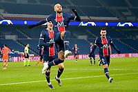 Joie des joueurs du PSG apres le but de Neymar Jr (PSG) <br /> Paris  09/12/2020 <br /> Paris Saint Germain PSG - Istanbul Basaksehir<br /> Champions League 2020/2021<br /> Photo JB Autissier / Panoramic / Insidefoto <br /> Italy Only