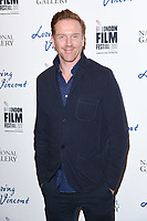 "Damien Lewis<br /> arriving for the London Film Festival 2017 screening of ""Loving Vincent"" at the National Gallery, Trafalgar Square, London<br /> <br /> <br /> ©Ash Knotek  D3328  09/10/2017"