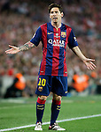 FC Barcelona's Leo Messi during Spanish King's Cup Final match. May 30,2015. (ALTERPHOTOS/Acero)