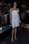 31.08.2012. Celebrities attending the Angel Schlesser fashion show during the Mercedes-Benz Fashion Week Madrid Spring/Summer 2013 at Ifema. In the image Fabiola Toledo (Alterphotos/Marta Gonzalez)