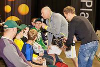 11-02-13, Tennis, Rotterdam, ABNAMROWTT, Sport Plaza, Petje op petje af quiz