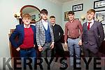 Beale GAA Social : Attending the Bealem  GAA club social at Kilcooley's Country House, Ballybunion on Saturday night last were Mark Hennessy, Jason O'Sullivan, Shamie O'Sullivan, Conor Hennessy & Ryan Doyle.