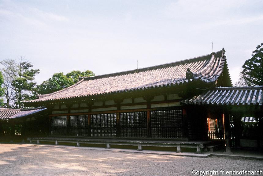 Nara Prefecture: Horyuji, East Minster, unidentified. Photo '82.