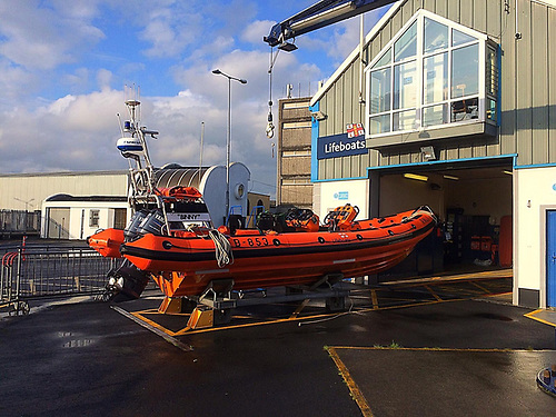 The RNLI Lifeboat Station at Galway was established in 1995 because of the increasing number of search and rescue incidents in the area. Today the station operates an inshore B class Atlantic 85 lifeboat