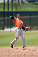 Houston Astros Cody Bohanek (99) during a Minor League Spring Training Intrasquad game on March 28, 2018 at FITTEAM Ballpark of the Palm Beaches in West Palm Beach, Florida.  (Mike Janes/Four Seam Images)