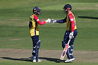 Aron Nijjar and Simon Harmer in batting action for Essex during Hampshire Hawks vs Essex Eagles, Vitality Blast T20 Cricket at The Ageas Bowl on 16th July 2021