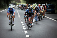 Niki Terpstra (NED/Total - Direct Energie) already in front early race. <br /> <br /> Circuit de Wallonie 2019<br /> One Day Race: Charleroi – Charleroi 192.2km (UCI 1.1.)<br /> Bingoal Cycling Cup 2019