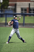 TEMPORARY UNEDITED FILE:  Image may appear lighter/darker than final edit - all images cropped to best fit print size.  <br /> <br /> Under Armour All-American Game presented by Baseball Factory on July 19, 2018 at Les Miller Field at Curtis Granderson Stadium in Chicago, Illinois.  (Mike Janes/Four Seam Images) Riley Greene is an outfielder from Hagerty High School in Oviedo, Florida committed to Florida.