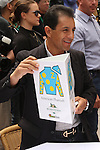 June 3, 2015: Post Position Draw. Victor Espinosa. Sue Kawczynski/ESW/CSM