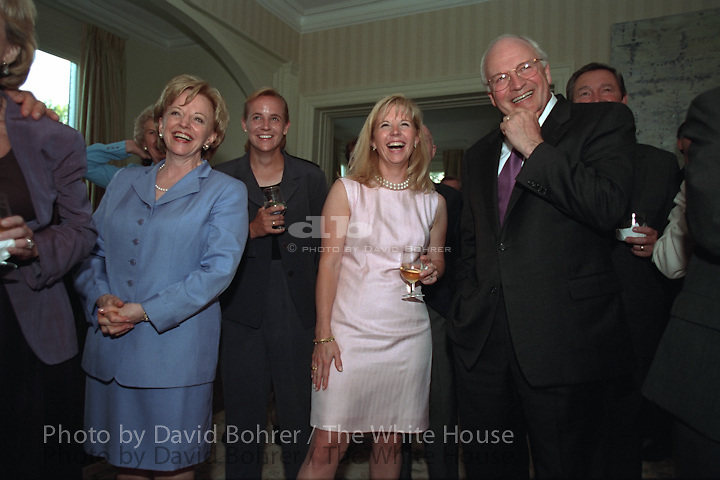 VP Cheney: surprise birthday party for mrs. cheney.
