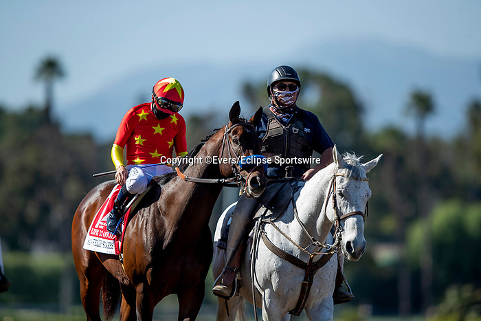 March 06, 2021: Life is Good with Mike Smith aboard wins the San Felipe Stakes at Santa Anita Park in Arcadia, California on March 06, 2021. Evers/Eclipse Sportswire/CSM
