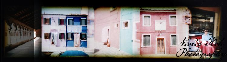 Holga film photographs shot in Venice, Italy