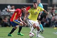 Spain's Koke Resurreccion (l) and Colombia's Edwin Cardona during international friendly match. June 7,2017.(ALTERPHOTOS/Acero) (NortePhoto.com) (NortePhoto.com)