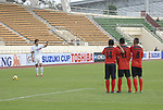 Timor-Leste vs Philppines during their AFF Suzuki Cup 2010 Qualification match at National Sports Complex on 22 October 2010, in Vientiane, Laos. Photo by Stringer / Lagardere Sports