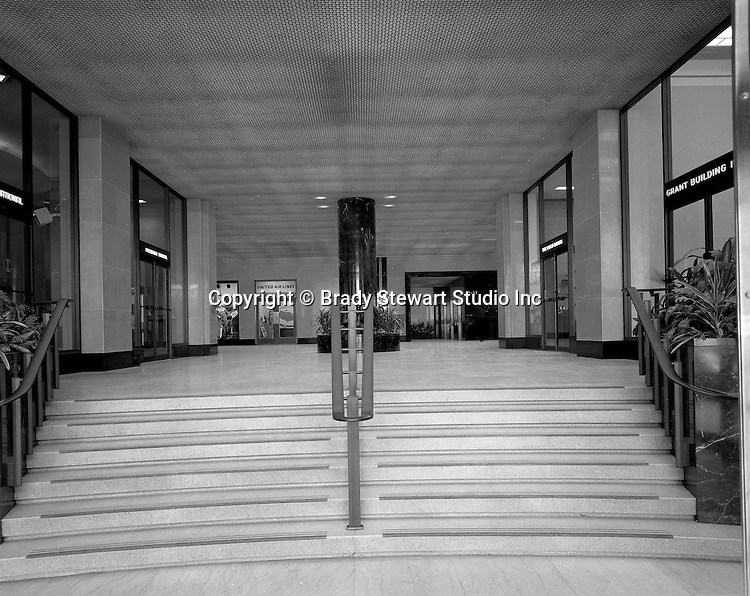 Pittsburgh PA:  The Grant Building, First Floor Offices. The photographic assignment was for a brochure to highlight upgrades to the building and to solicit more tenants.  The 40-story Grant Building is located at 310 Grant Street and was built in 1929.