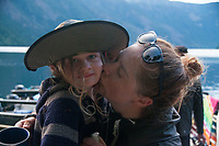 Poppy and Alison, Ross Lake National Recreation Area, North Cascades National Park, US