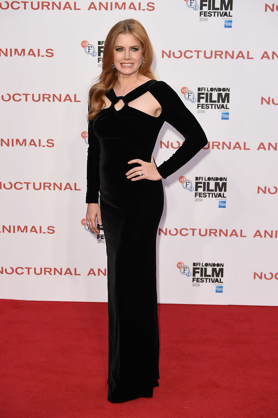 "Amy Adams<br /> at the London Film Festival 2016 premiere of ""Nocturnal Animals"" at the Odeon Leicester Square, London.<br /> <br /> <br /> ©Ash Knotek  D3179  14/10/2016"
