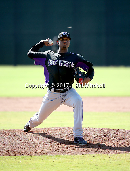 Alexander Martinez - 2017 AIL Rockies (Bill Mitchell)