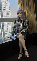 Maisie Williams, who stars in 'Game of Thrones', at the Mandarin Oriental Hotel in New York, NY / 040419 Credit: Magnus Sundholm/Action Press/MediaPunch ***FOR USA ONLY***