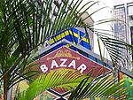 Bazaar, the market in Little India, Kuala Lumpur