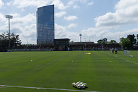 Philadelphia, PA - May 23, 2018: The USMNT trains at Rhodes Soccer Stadium before an international friendly against Bolivia.
