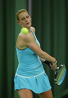 10-3-06, Netherlands, tennis, Rotterdam, National indoor junior tennis championchips, Manon Velthorst