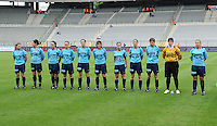 15 Mei 2010 Bekerfinale vrouwen : Sinaai Girls - RSC Anderlecht  : Sinaai Girls.foto DAVID CATRY / Vrouwenteam.be
