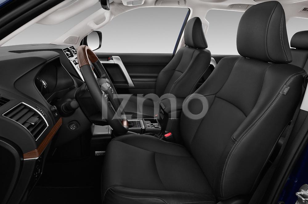 Front seat view of 2018 Toyota Land-Cruiser-150 Premium 5 Door SUV Front Seat  car photos