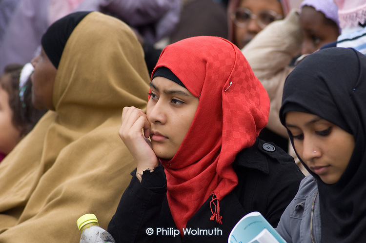 First ever celebration in Trafalgar Square of the Muslim festival of Eid ul-fitr, which marks the end of Ramadan