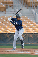Seattle Mariners outfielder Gareth Morgan (33) during a Minor League Spring Training game against the Los Angeles Dodgers at Camelback Ranch on March 28, 2018 in Glendale, Arizona. (Zachary Lucy/Four Seam Images)