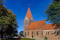 Marienkirche in Klütz, erb. 1250, Mecklenburg-Vorpommern, Deutschland