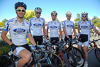 The Fagan Motors team before stage three of the NZ Cycle Classic UCI Oceania Tour in Wairarapa, New Zealand on Tuesday, 24 January 2017. Photo: Dave Lintott / lintottphoto.co.nz