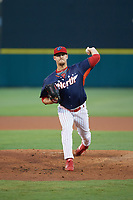 Clearwater Threshers pitcher Cole Irvin (30) during the Florida State League All-Star Game on June 17, 2017 at Joker Marchant Stadium in Lakeland, Florida.  FSL North All-Stars defeated the FSL South All-Stars  5-2.  (Mike Janes/Four Seam Images)