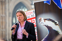13.03.2014 - Protest Against the Badger Cull Outside the Houses of Parliament