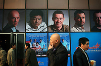 CHINA. Beijing. Fans outside of the Students Gymnasium which is hosting the China Open. Snooker is a cue sport played on a large table measuring 3.6 metres x 1.8 metres. Originating in India in the late 19th Century where it was invented by British Army officers, the game has been a mainstay in British sport over the past few decades. Recently however, popularity of the sport has declined as the sport struggles to compete with other popular sports. The sport is however flourishing in countries such as China, where it is now the second most popular sport, behind Basketball. In a country where the  players are treated like movie-stars, China may be the great hope for the sports recovery. 2009