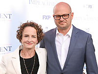"""01 September 2021 - West Hollywood, California - Nina Jacobson, Brad Simpson. FX's """"Impeachment: American Crime Story"""" Premiere held at The Pacific Design Center. Photo Credit: Billy Bennight/AdMedia"""