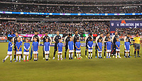 EAST RUTHERFORD, NJ - SEPTEMBER 7: Mexico National Team during a game between Mexico and USMNT at MetLife Stadium on September 6, 2019 in East Rutherford, New Jersey.