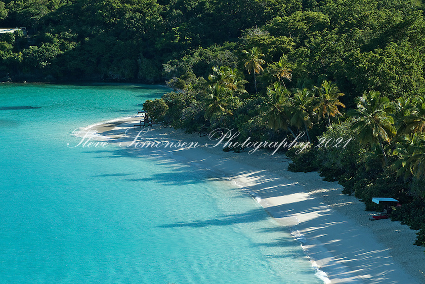 Trunk Bay St John.Virgin Islands National Park