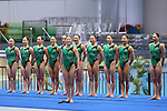 Japan team group (JPN), <br /> AUGUST 10, 2014 - Synchronised Swimming : <br /> Japan Synchro Challenge Cup 2014 <br /> Exhibition <br /> at Tatsumi International Swimming Pool, Tokyo, Japan. <br /> (Photo by YUTAKA/AFLO SPORT)