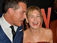 "LOS ANGELES, USA. September 20, 2019: Rufus Sewell & Renee Zellweger at the premiere of ""Judy"" at the Samuel Goldwyn Theatre.<br /> Picture: Paul Smith/Featureflash"