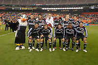 DC United Starting XI. The Kansas City Wizards defeated DC United 4-2, in the home opener for DC United at RFK Stadium, April 14, 2007.
