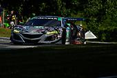 #86 Michael Shank Racing with Curb-Agajanian Acura NSX, GTD: Katherine Legge, Alvaro Parente