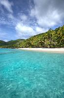 Little Cinnamon Bay looking towards<br /> Cinnamon Bay<br /> Virgin Islands National Park<br /> St. John<br /> U.S. Virgin Islands